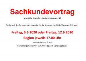 ÖGV Klagenfurt - Sachkundevortrag